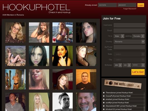 Hookuphotel Logins Free