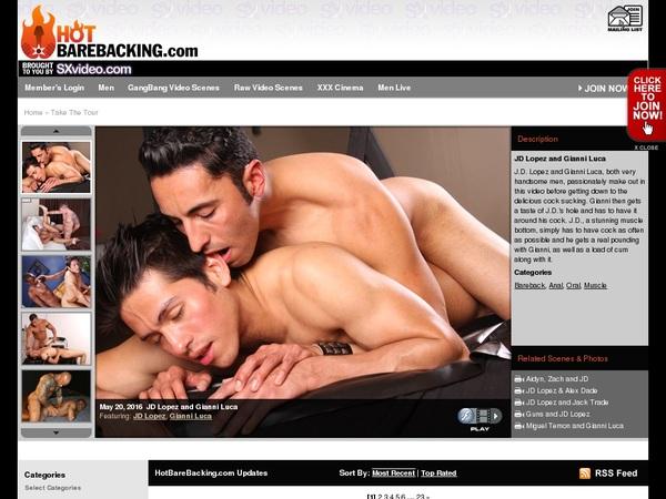 Hotbarebacking.com Special Offer
