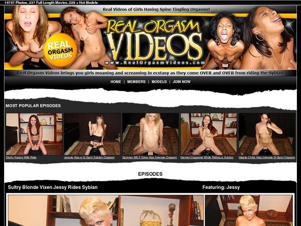 Real Orgasm Videos Netcash