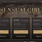 Sensual Girl Website Accounts