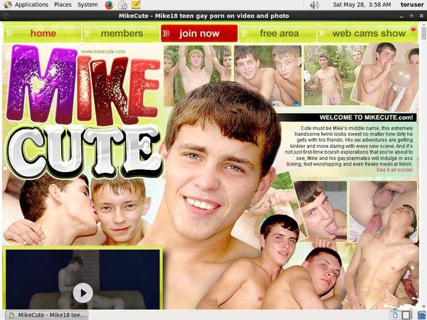 Mike Cute User Pass
