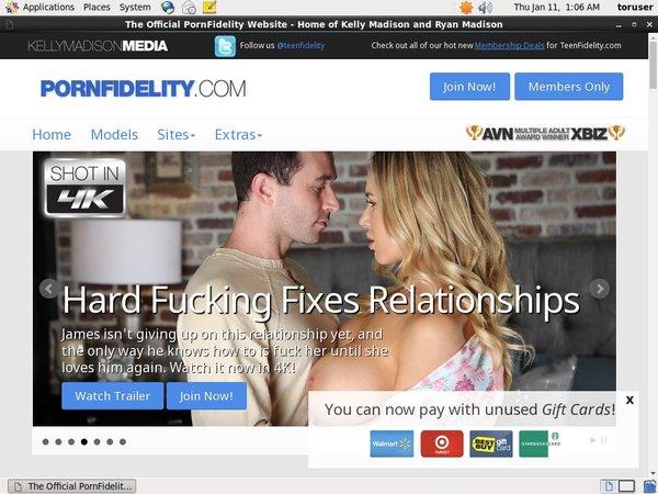 Pornfidelity.com Valid Account