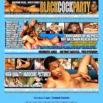 Black Cock Party Site Passwords