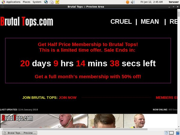 How To Join Brutal Tops