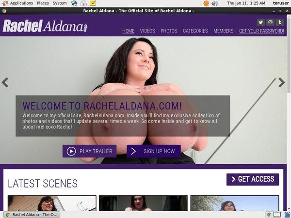 Log In Rachel Aldana