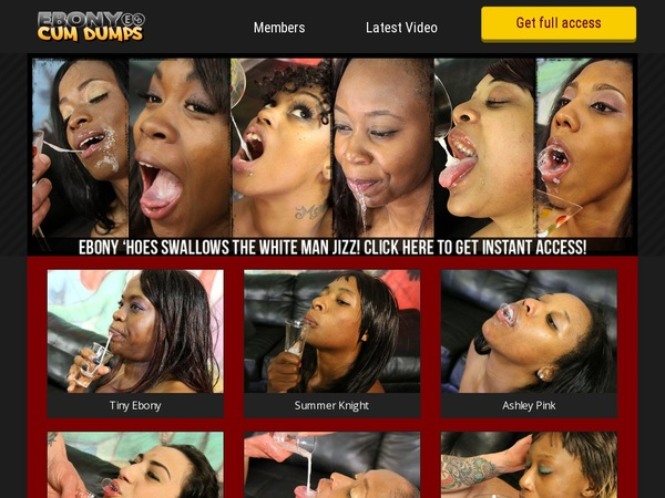 Ebonycumdumps Porn Password