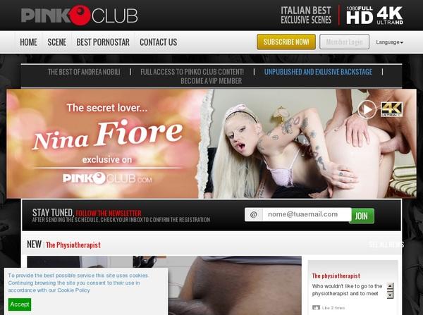 PinkO Club Password Accounts