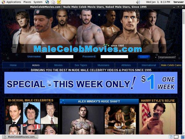 Malecelebmovies Signup Page
