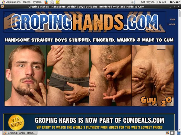 Gropinghands.com Create Account