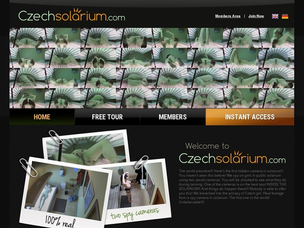 Czechsolarium.com Free Memberships