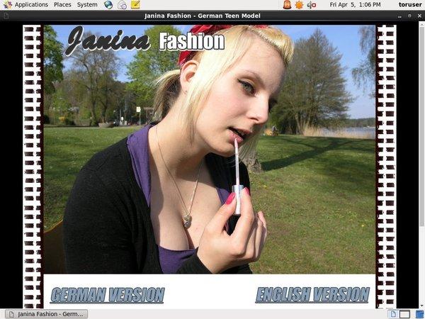 Free Login For Janina Fashion