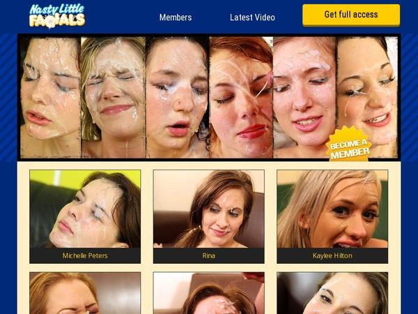 Nasty Little Facials Member Passwords