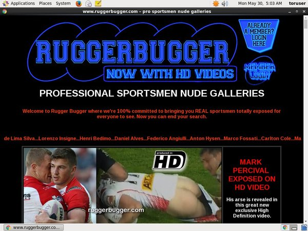 Ruggerbugger Bank Payment