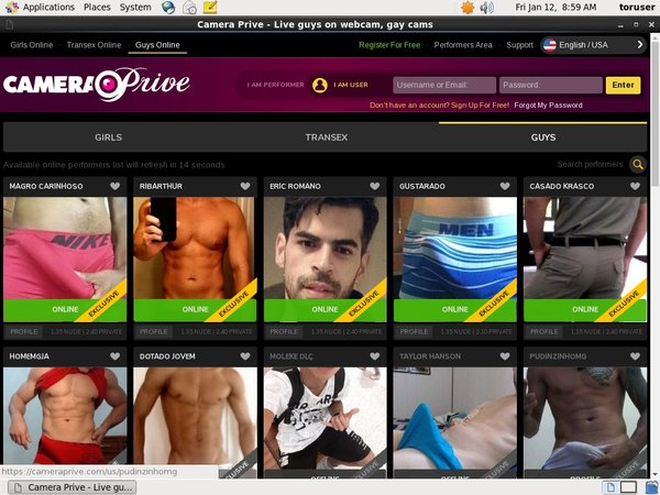Camera Prive Gay Mobile Passwords