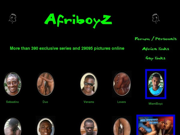 New Afri BoyZ Passwords